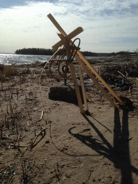 Janna Lucenius_Lasten taidetta rannalla